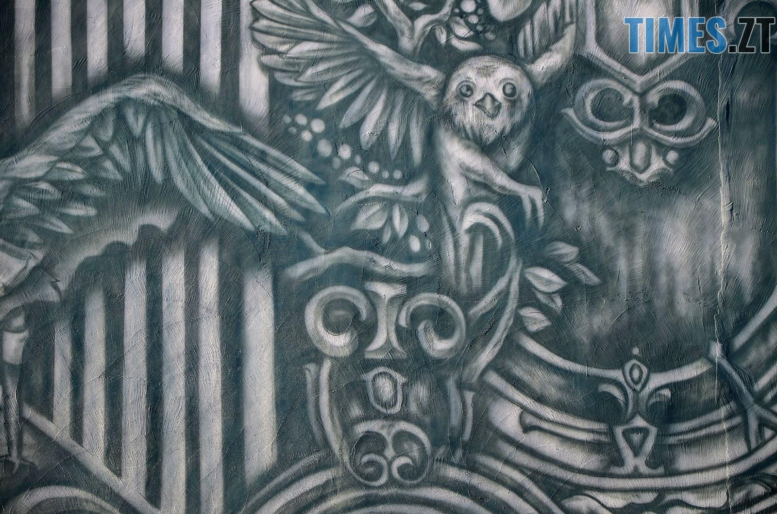 Krab 6 - Новий мурал «Трисвіт» як наймасштабніший витвір вуличного мистецтва у Житомирі