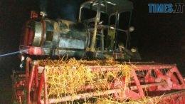 P81010 203045 1 260x146 - У Баранівському районі згорів комбайн та 2 тонни гречки