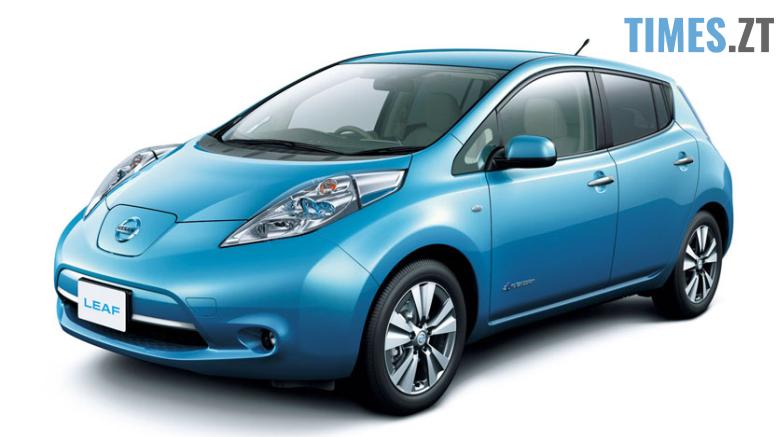 elektromobil nissan leaf 14 - Житомирська обласна рада майже за мільйон гривень придбала два електрокари