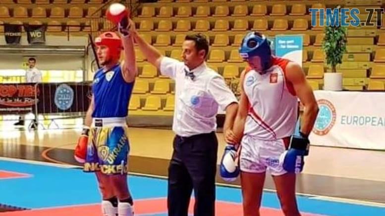 img1540273864 - Житомирянин здобув бронзу на Чемпіонаті Європи з кікбоксингу