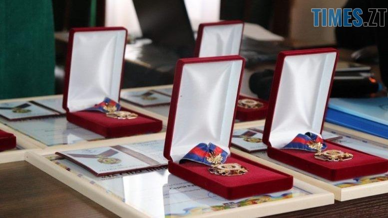 orden - Двох житомирських лікарів нагородили орденом «За спасіння життя»