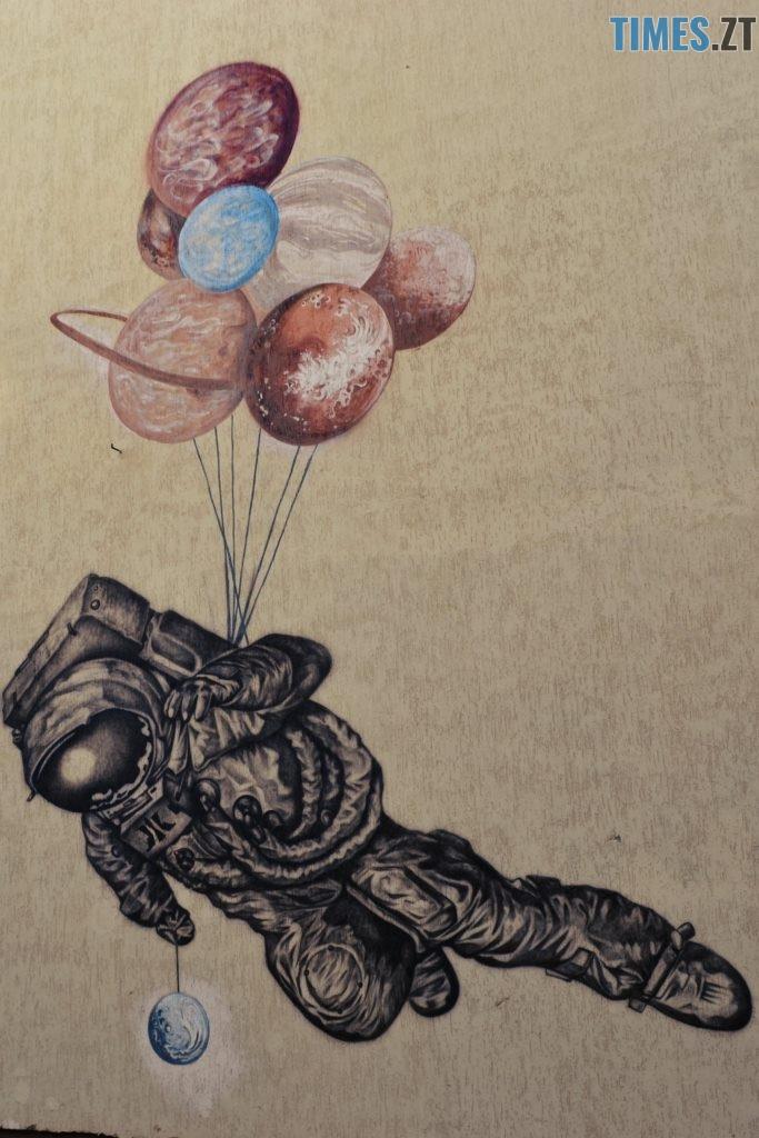 Качинськаого 4 683x1024 - Місто стінописів: вуличне мистецтво, яке робить Житомир особливим (спецвипуск 2)