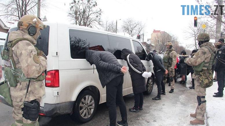 .jpg - У центрі Житомира силовики затримали групу квартирних злодіїв