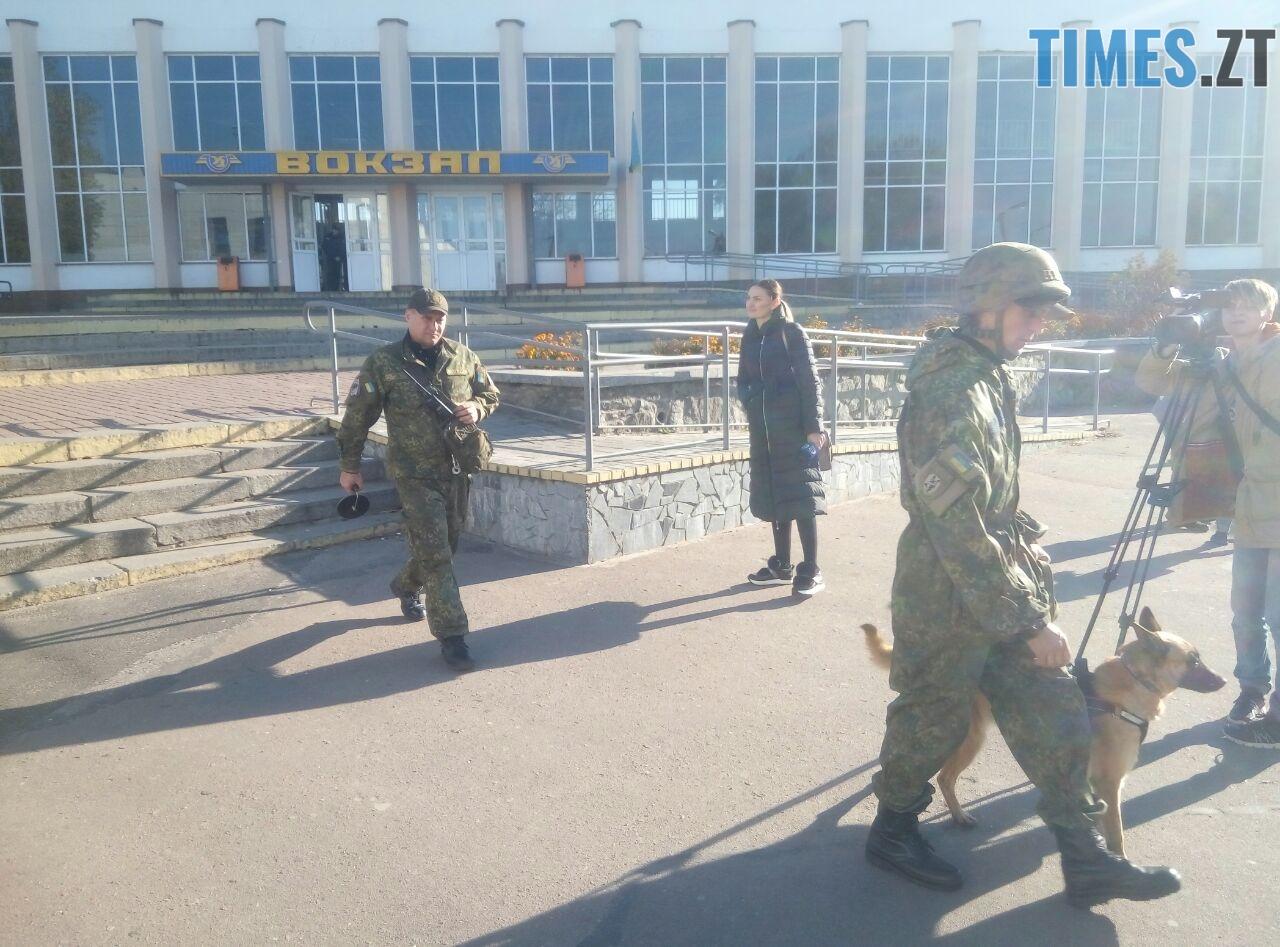 9e3a6069 ac45 4024 bbb7 ff644bf9b959 - Переполох у Житомирі: з трьох вокзалів терміново евакуюють людей (ОНОВЛЕНО)