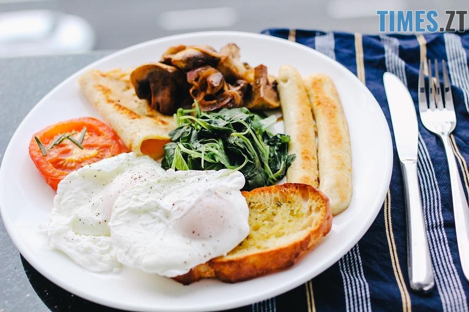 Повноцінний сніданок щоб прокинутись зранку