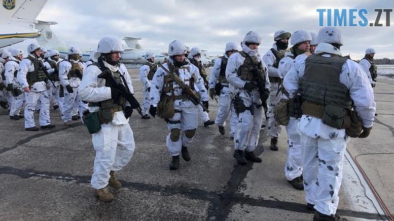 ЗСУ Озерне - На військовому аеродромі в Озерному очікують прильоту президента (ФОТО)