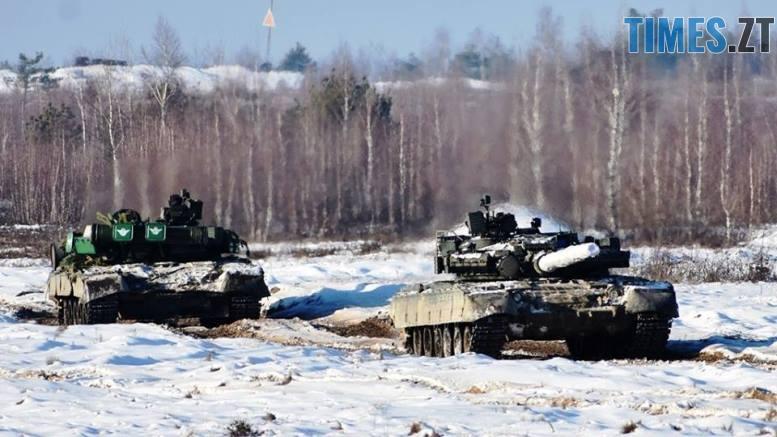 танки головна - На Житомирщині десантники на «летючих» танках показали що таке ударна міць