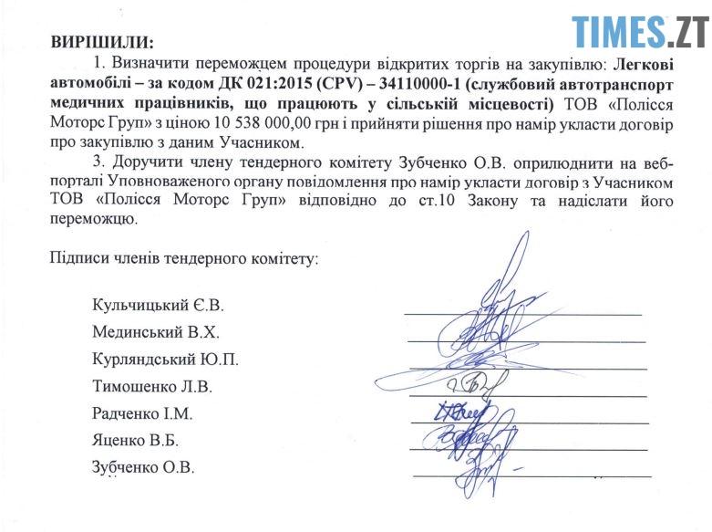 .jpg - Житомирська облдержадміністрація купить 22 автомобілі Renault у фірми дружини екс-губернатора