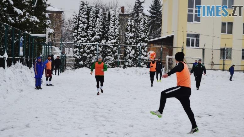 12 1 - Вихованці Сергія Завалка зустрілися у щорічному футбольному батлі
