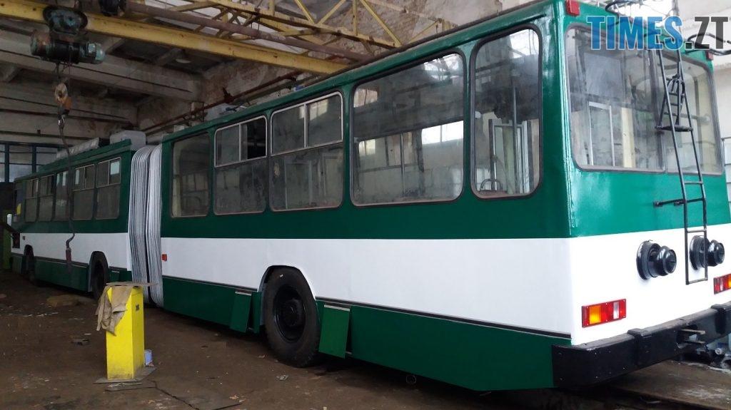 1545643146 20181221 123649 kopya 1024x575 - У Житомирі відремонтували тролейбус, якому більше 20 років