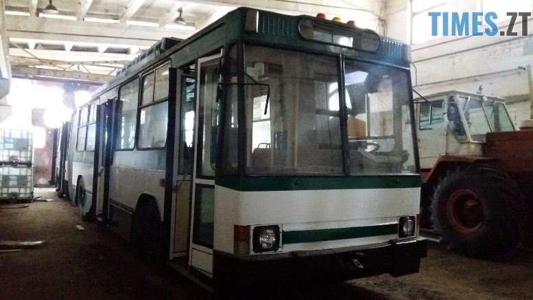 1545643171 20181221 123946 kopya - У Житомирі відремонтували тролейбус, якому більше 20 років