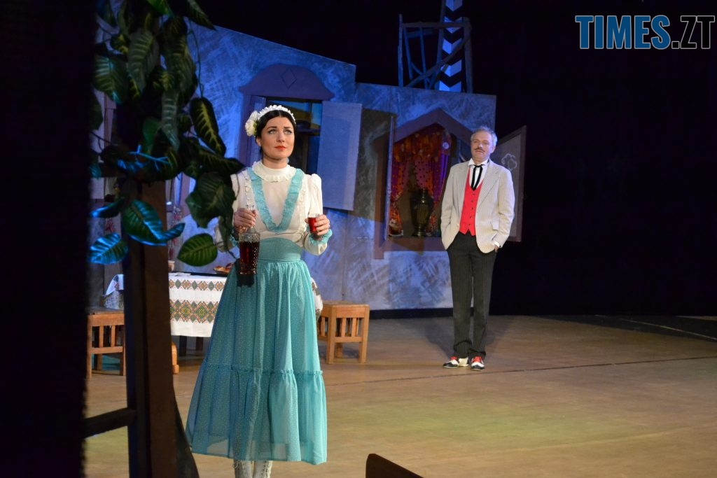 DSC 0521 1024x683 - «За двома зайцями»: 20 років на сцені Житомирського драмтеатру