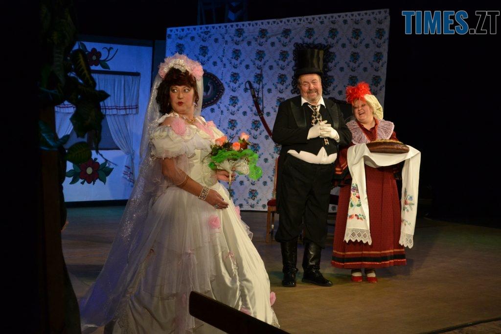 DSC 0693 1024x683 - «За двома зайцями»: 20 років на сцені Житомирського драмтеатру