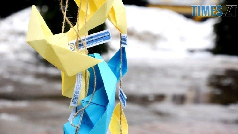 Korablyk 2812 2 - #Жовтоблакитнийкорабликнаялинку: головну ялинку міста прикрасили корабликами, які виготовили діти бійців