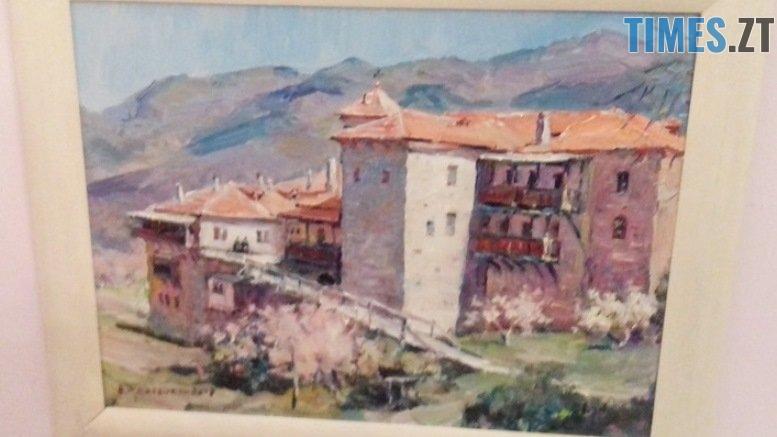 afon 1812 4 - У Житомирі відкрили виставку картин, написаних на Афоні