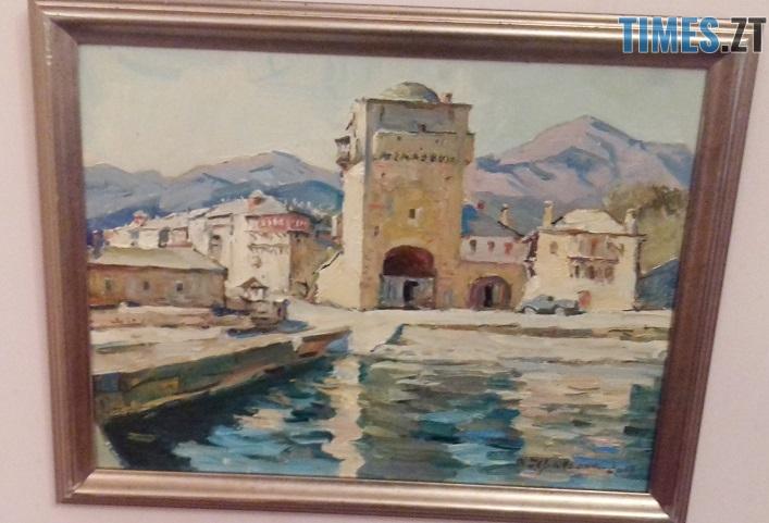 afon 1812 6 - У Житомирі відкрили виставку картин, написаних на Афоні