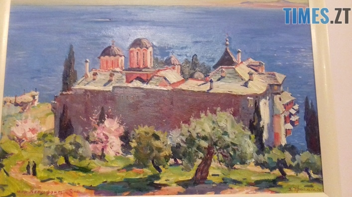 afon 1812 7 - У Житомирі відкрили виставку картин, написаних на Афоні