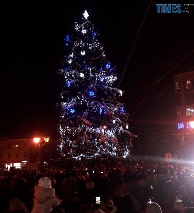 berdychiv - Як виглядають новорічні ялинки у різних районах Житомирської області