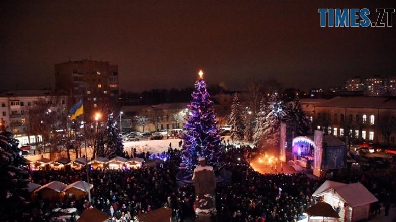 yalynka zhytomyr 10 1 - Як виглядають новорічні ялинки у різних районах Житомирської області
