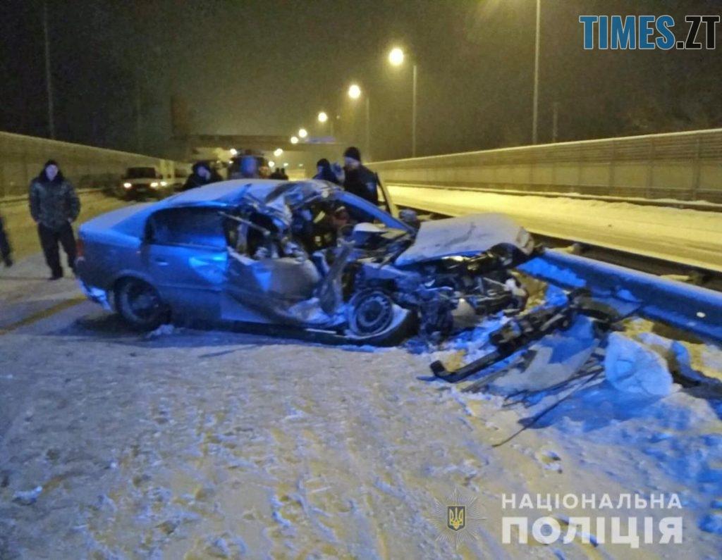 2Brusyliv 1024x795 - У аварії в Брусилівському районі загинув чоловік, ще трьох госпіталізували з травмами
