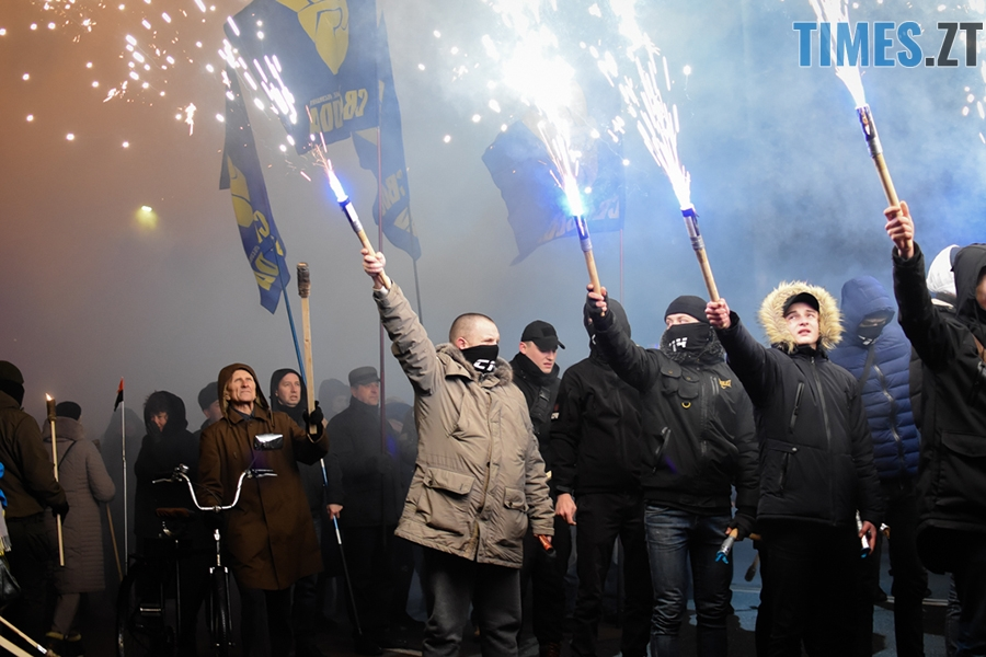 DSC 0100 - Житомиряни відсвяткували День народження Степана Бандери