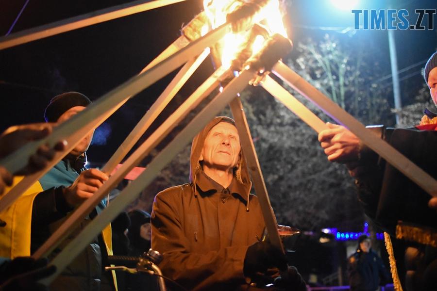 DSC 0138 - Житомиряни відсвяткували День народження Степана Бандери