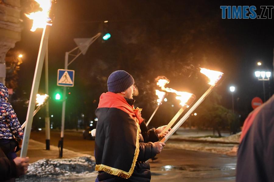 DSC 0165 2 - Житомиряни відсвяткували День народження Степана Бандери