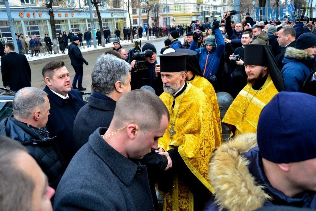 DSC 0984 1024x683 - Президент України Порошенко разом із Філаретом привезли Томос у Житомир
