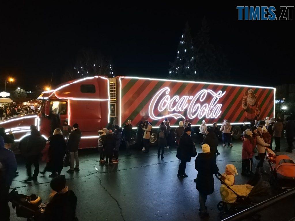 IMG 20190102 171908 1024x768 - Різдвяна вантажівка Coca-Cola прибула в Житомир
