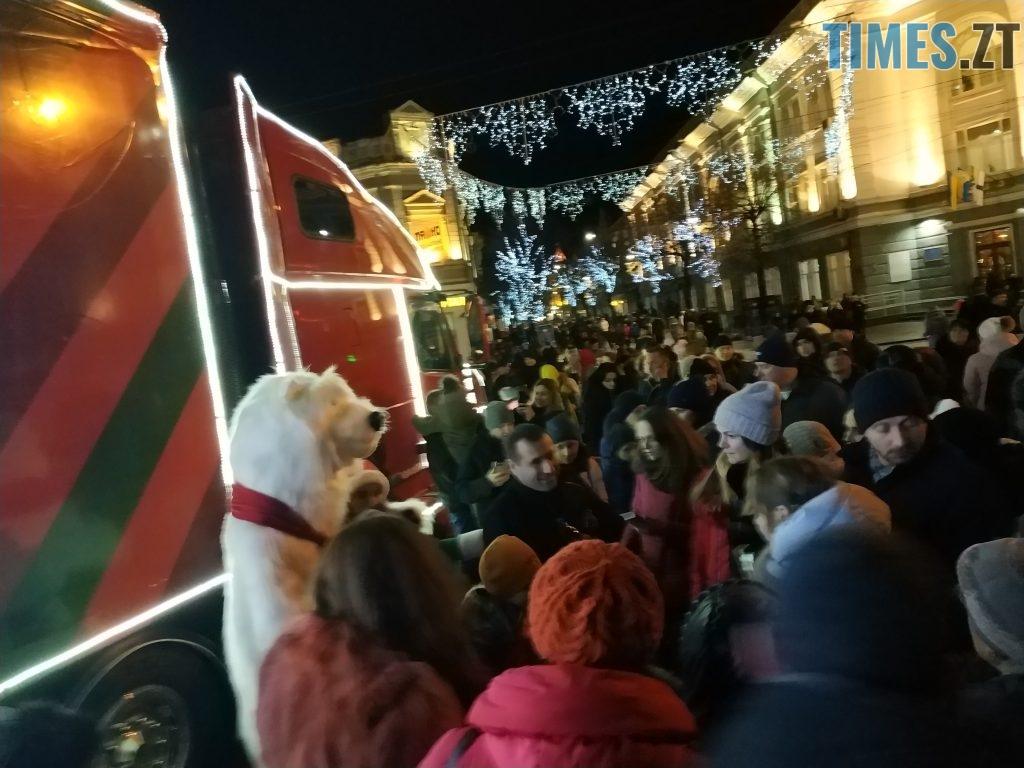 IMG 20190102 171956 1024x768 - Різдвяна вантажівка Coca-Cola прибула в Житомир