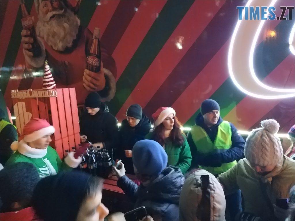 IMG 20190102 172014 1024x768 - Різдвяна вантажівка Coca-Cola прибула в Житомир
