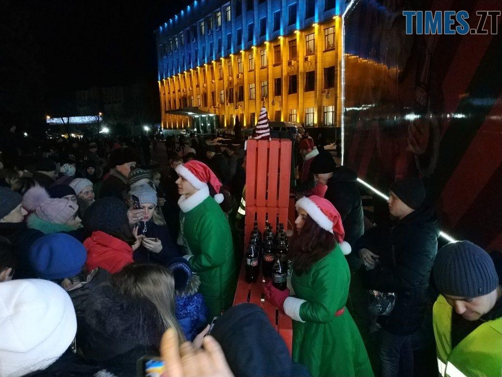 IMG 20190102 172038 1024x768 - Різдвяна вантажівка Coca-Cola прибула в Житомир