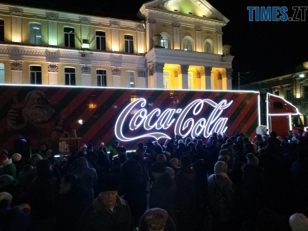 IMG 20190102 172158 1024x768 - Різдвяна вантажівка Coca-Cola прибула в Житомир