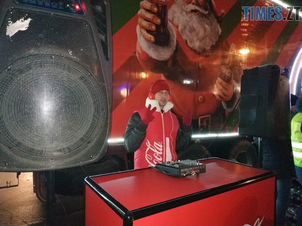 IMG 20190102 172453 1024x768 - Різдвяна вантажівка Coca-Cola прибула в Житомир