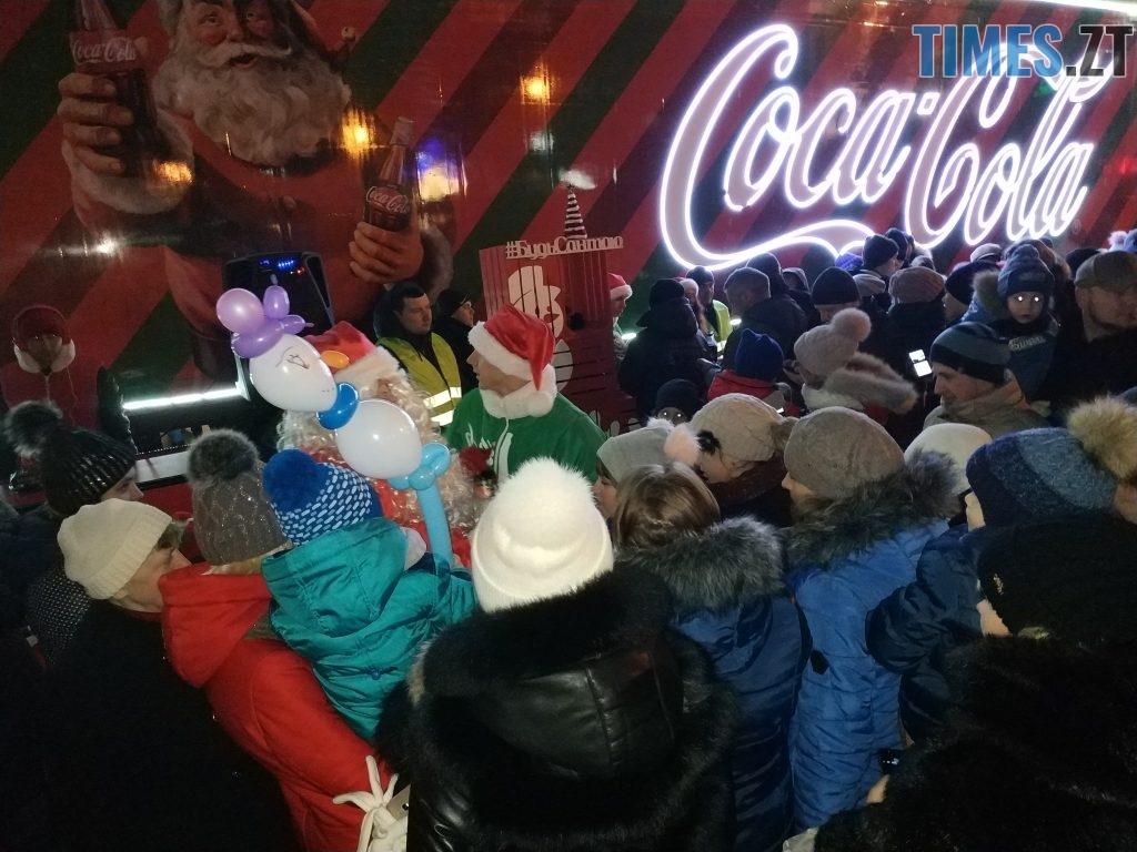 IMG 20190102 173317 1024x768 - Різдвяна вантажівка Coca-Cola прибула в Житомир