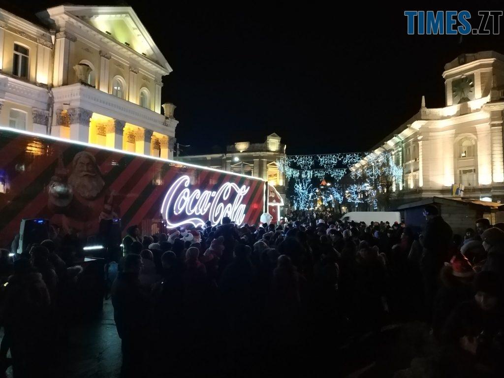 IMG 20190102 173434 1024x768 - Різдвяна вантажівка Coca-Cola прибула в Житомир