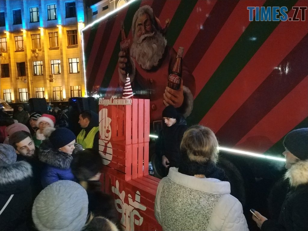IMG 20190102 173652 1024x768 - Різдвяна вантажівка Coca-Cola прибула в Житомир