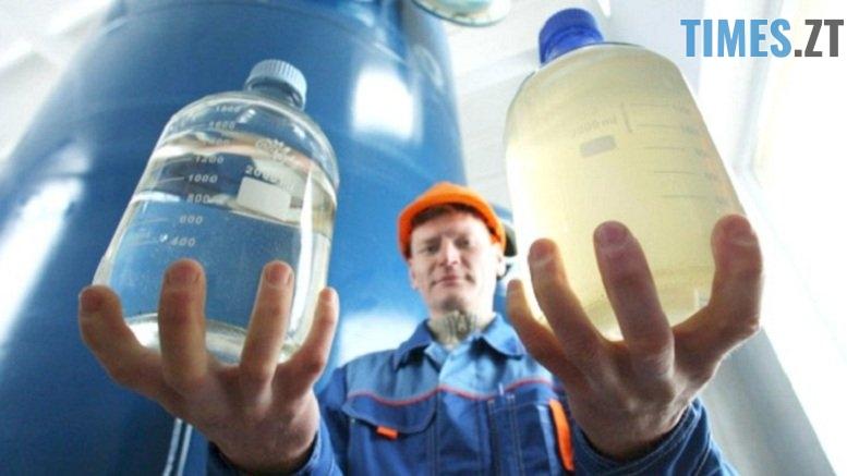 77704848 - «Ми не дбаємо про водні ресурси» запевняє директор КП «Житомирводоканал», а екологи підтверджують наявність у водах р. Тетерів  нафтопродуктів