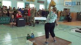 hyri 260x146 - Гирьовий спорт для жінок і чоловіків: військові змагались за «гирьову» першість