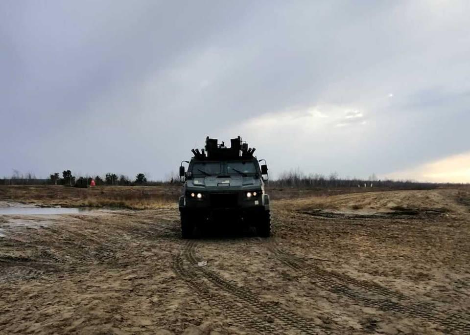 54070330 574634393018506 6427522200319819776 n - На Житомирщині провели випробування бронеавтомобіля «Козак 2»