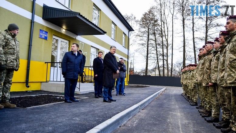 DSC 0025 Kopyrovat  - Президентський подарунок: житомирські військові отримали нові сучасні гуртожитки