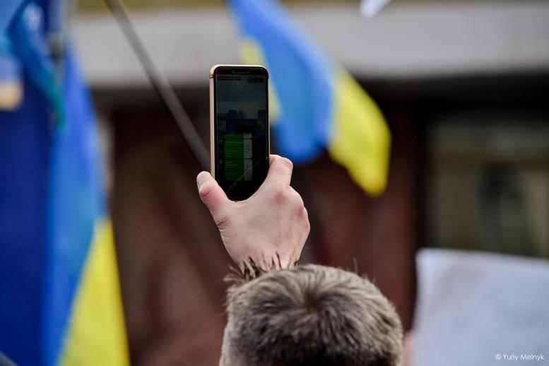 DSC 0140 Kopyrovat  - Концерт, бійки, гасла - Юлія Тимошенко зустрілась з житомирянами (ФОТО)