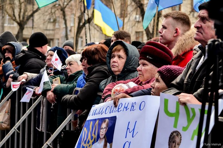 DSC 0175 Kopyrovat  - Концерт, бійки, гасла - Юлія Тимошенко зустрілась з житомирянами (ФОТО)