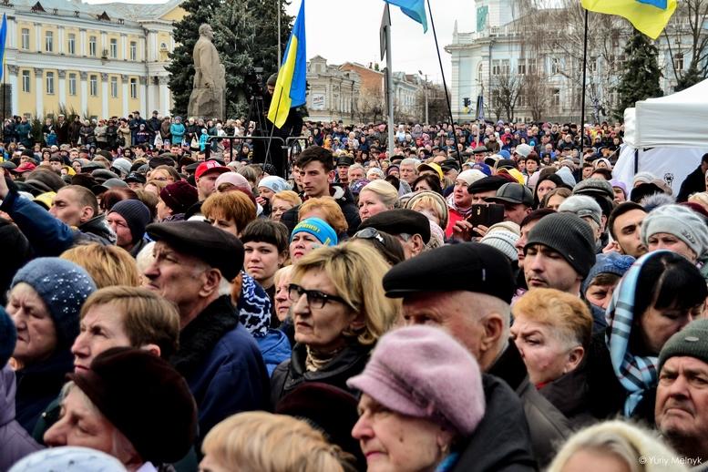 DSC 0194 Kopyrovat  - Концерт, бійки, гасла - Юлія Тимошенко зустрілась з житомирянами (ФОТО)