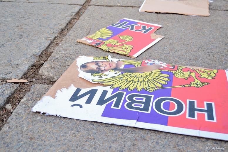 DSC 0221 Kopyrovat 1 1 - Фаталіті на майдані Корольова: прихильники Тимошенко побилися з її опонентами (ФОТО)