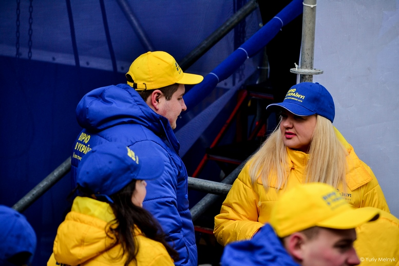 DSC 0272 Kopyrovat  - Концерт, бійки, гасла - Юлія Тимошенко зустрілась з житомирянами (ФОТО)