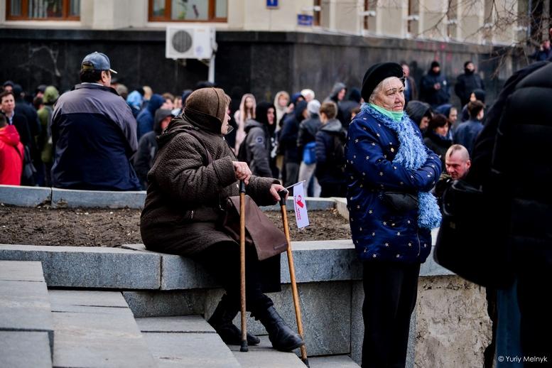 DSC 0288 Kopyrovat  - Концерт, бійки, гасла - Юлія Тимошенко зустрілась з житомирянами (ФОТО)