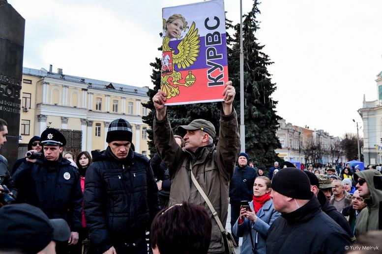 DSC 0306 Kopyrovat  - Фаталіті на майдані Корольова: прихильники Тимошенко побилися з її опонентами (ФОТО)