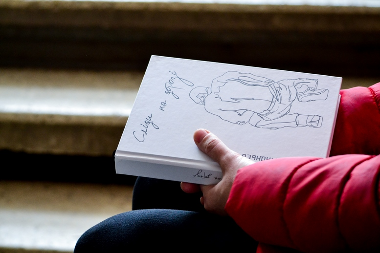 DSC 0507 Kopyrovat kopyia - «Я просто Людина»: в Житомирі відомий блогер-десантник розповів про свою книгу (ФОТО)