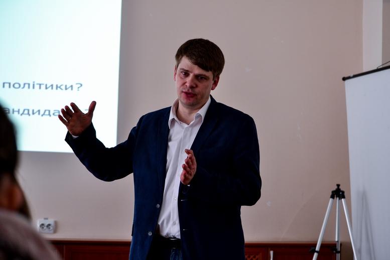 DSC 0790 Kopyrovat  - Пройди тест – знайди кандидата-однодумця: в Житомирі презентували програму «Вибори 2019. За кого голосувати?»